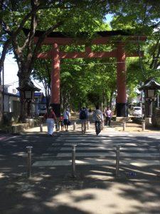 武蔵一宮 氷川神社 2017春埼玉高校野球@大宮公園野球場の近く