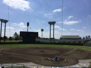 2017春埼玉 浦和学院vs市立川越@大宮公園野球場 試合開始