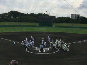 2017秋季千葉県大会 準決勝 習志野 中央学院