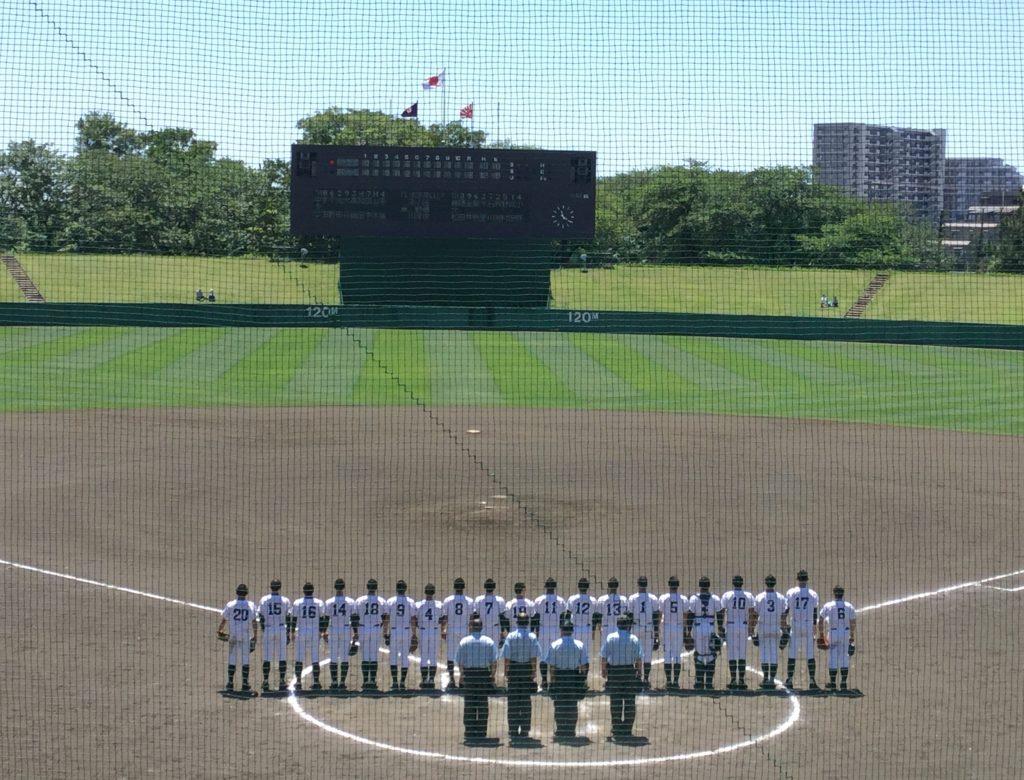 2018春季千葉県大会 専大松戸が中央学院に勝利