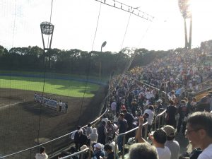 2018秋季神奈川県大会準決勝 慶応に逆転勝ち 歓喜に沸く横浜スタンド