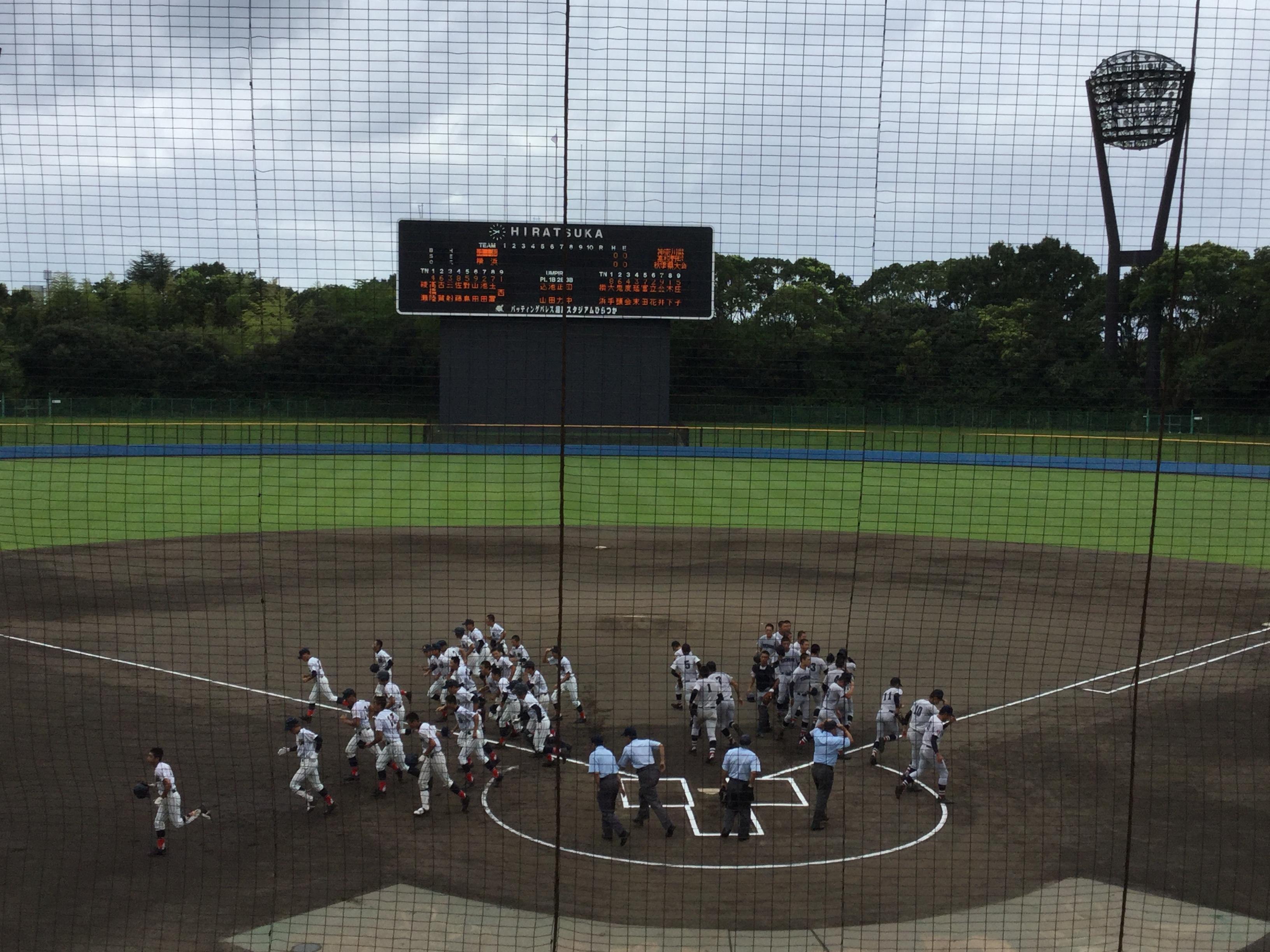 2019 秋季神奈川県大会 2回戦 横浜vs綾瀬
